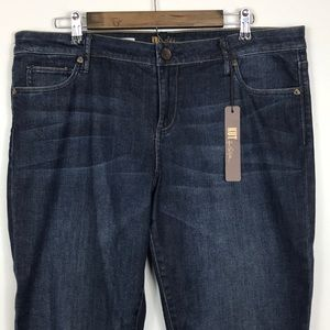Kut From The Kloth Farrah Baby Boot Cut Jeans 16L